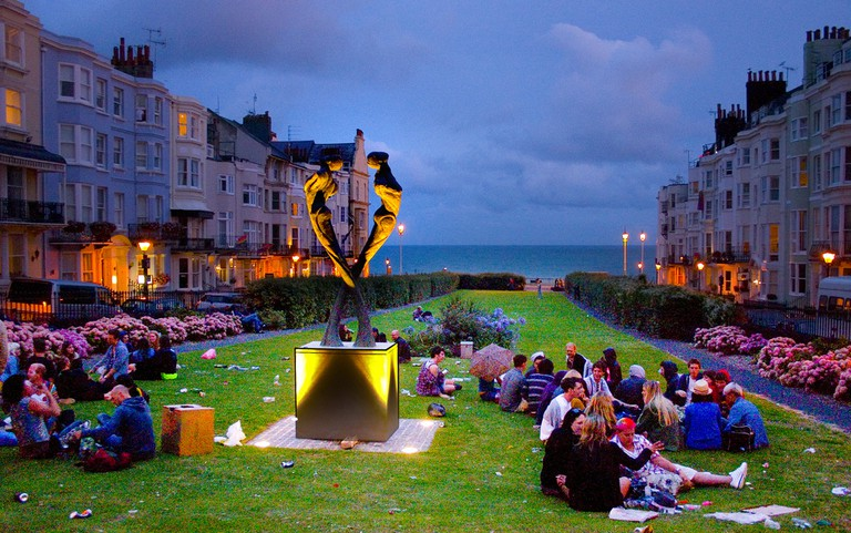 Brighton Pride Party ©Dominic Alves