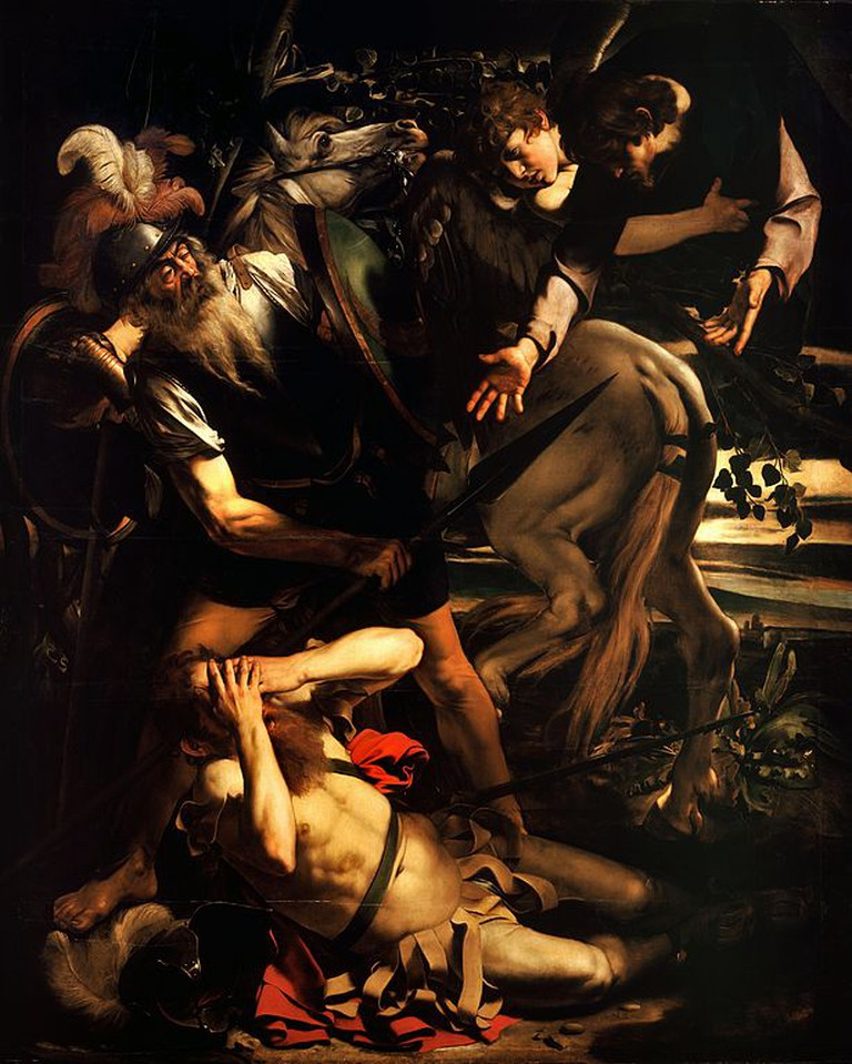 Caravaggio, The Conversion of St. Paul, 1600-1601 | © Caravaggio/WikiCommons
