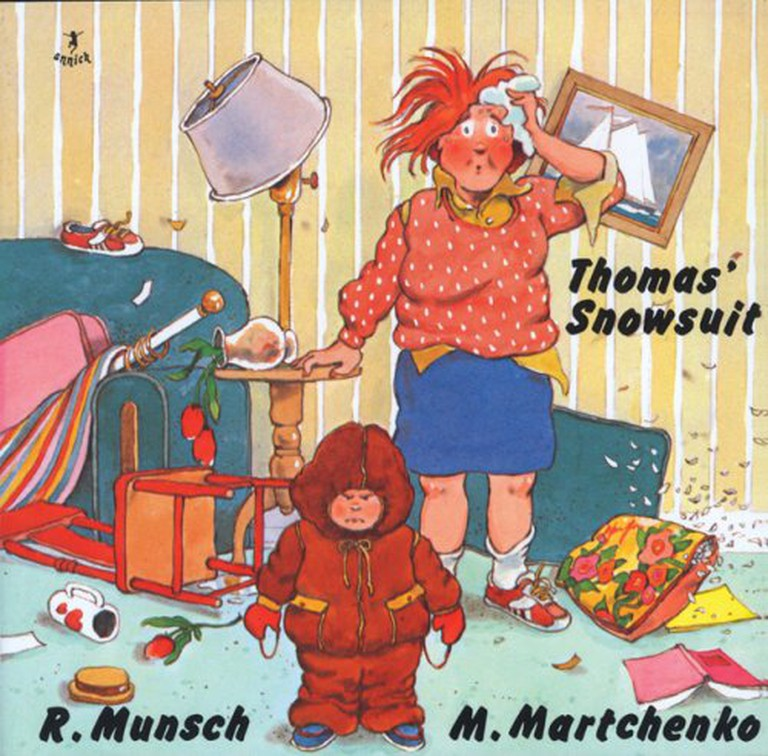 Thomas' Snowsuit | © Annick Press