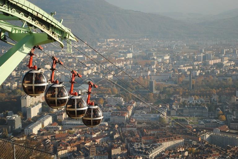 Teleférico Grenoble | © Vinicius Pinheiro / Flickr