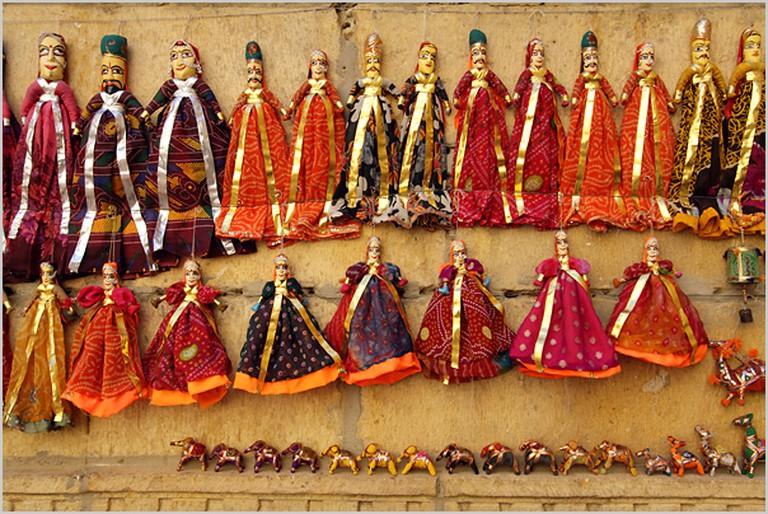 Puppets, Jaisalmer| © nevil zaveri/Flickr