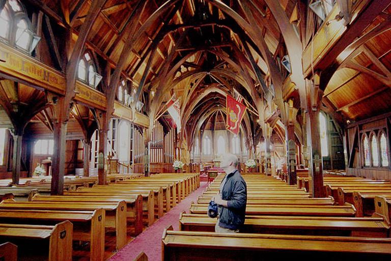 Old St Paul's, Wellington   © Bruce Tuten/Wikicommons