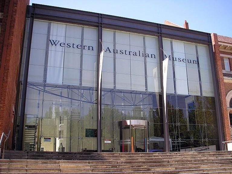Western Australian Museum, Perth Cultural Centre, Northbridge, Western Australia. ©Nachoman-au/WikiCommons