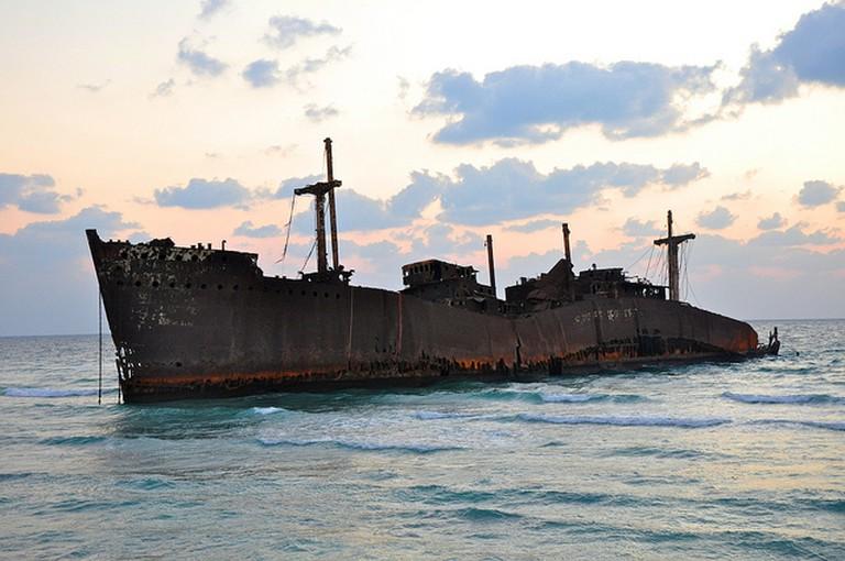 Greek Ship | © Babak Farrokhi/Flickr