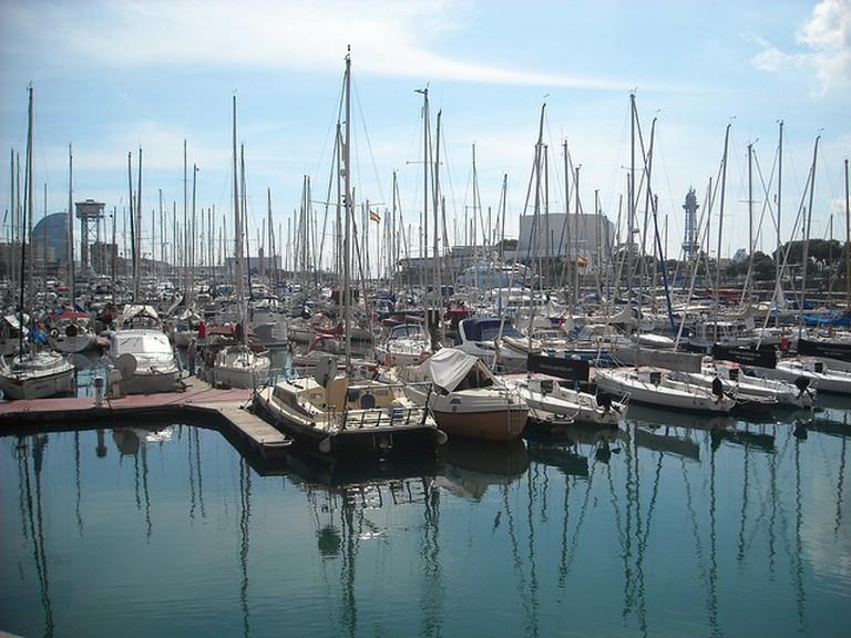 Barcelona Waterfront - Port Vell|© Daniel/Flickr