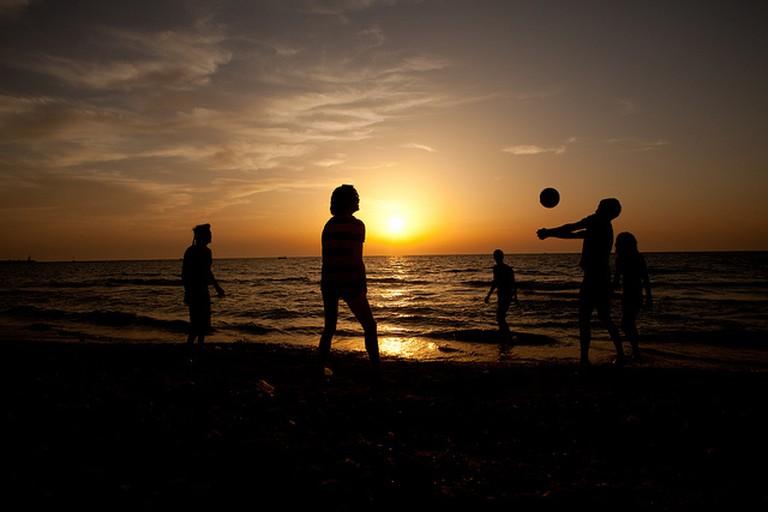 Sunset Beach | © israeltourism/Flickr