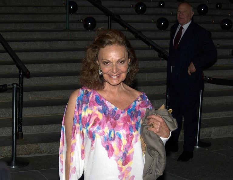Diane von Furstenberg in full color | © David Shankbone/WikiCommons