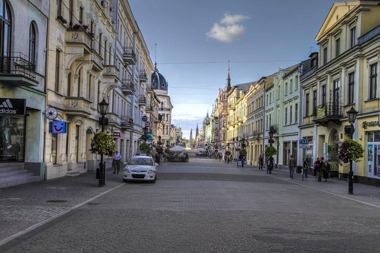 View on Liberty Square from Piotrkowska street | © Adam Mirowski/Flickr