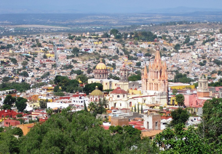 A view of San Miguel   impermeableazul/Flickr
