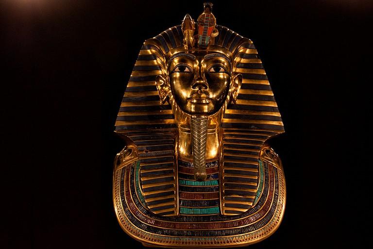 Mask of Tutankhamun | © Hans Splinter/Flickr