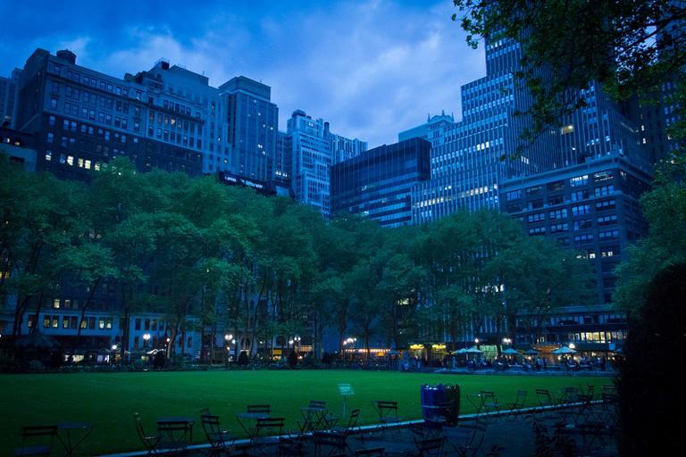 Bryant Park Nights   © John Gillespie/Flickr