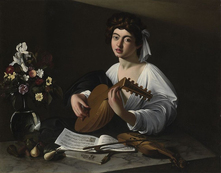 Caravaggio, Apollo the Lute Player, c. 1596 | © Caravaggio, WikiCommons