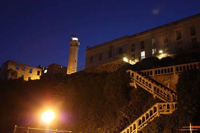 Alcatraz at night © Aussie Assault_Flickr