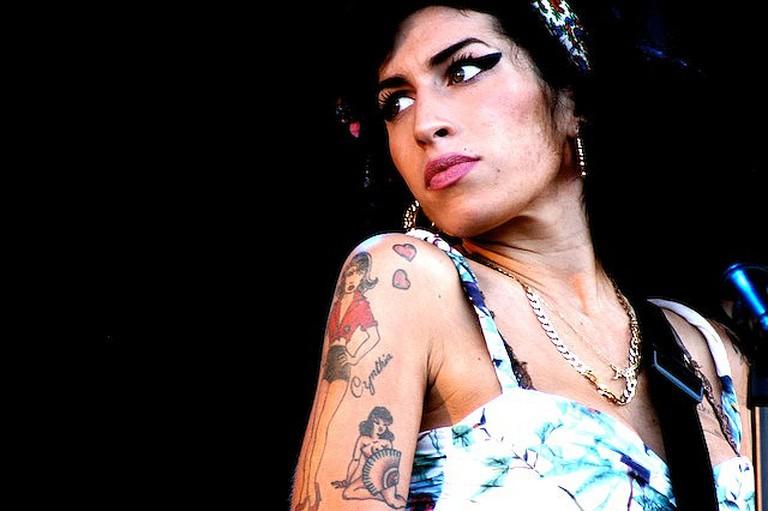 Amy Winehouse | © Fionn Kidney/Flickr