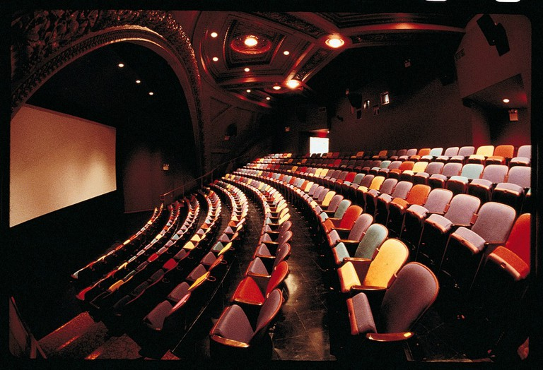 BAM Rose Cinemas Interior With Screen | Image Courtesy of BAM