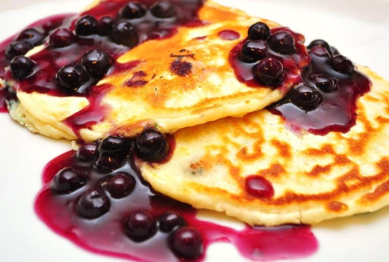 Blueberry pancakes | © Jeffreyw/WikiCommons