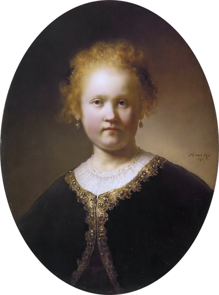 Rembrandt, Bust of Young Woman, 1632 | © Rembrandt/WikiCommons