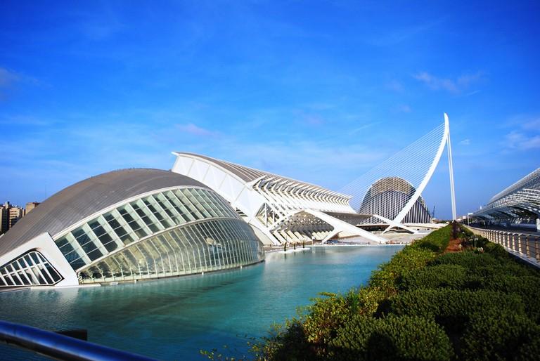 Ciudad de las Artes y las Ciencias, Valencia   © Maribelle71/ Wikipedia
