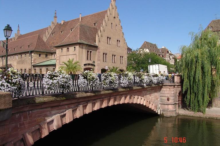 Pont du Corbeau Strasbourg | ©Marzio Candusso/WikiCommons
