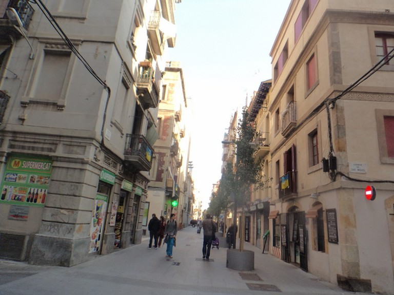 La Barceloneta's Centre| Courtesy of Elena Isaeva