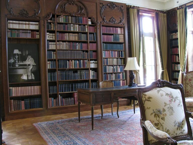 Edith Wharton's studio, The Mount, The Berkshires, MA | © Pablo Sanchez/Flickr