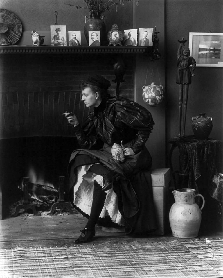 1896 Self-portrait by Frances Benjamin Johnston| © Frances Benjamin Johnston/WikiCommons