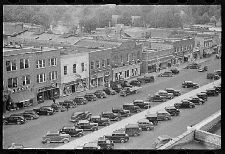 Goldsboro, NC circa 1938 | © U.S Farm Security Administration