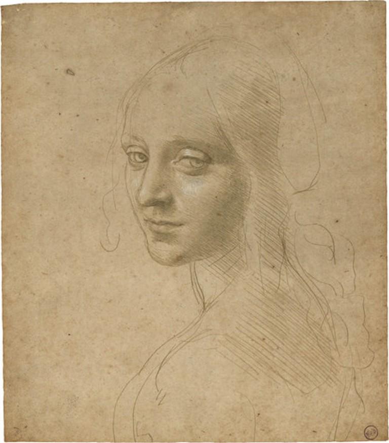 Leonardo da Vinci, Head of a Young Woman, after 1483 | © Leonardo da Vinci/WikiCommons