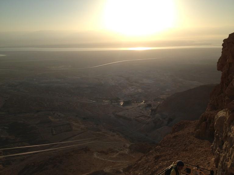 View from Masada | © Salome Chemla