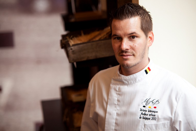 The man behind the chocolates | Courtesy of Jérôme Grimonpon Chocolatier