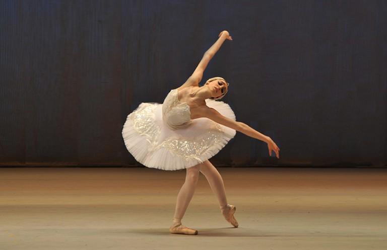 Katherine Higgins, Odette variation/ © Photo by Igor Zakharkin/ courtesy of Moscow IBC