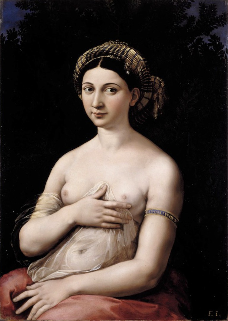 Raphael, La Fornarina, circa 1519   © Raphael/WikiCommons