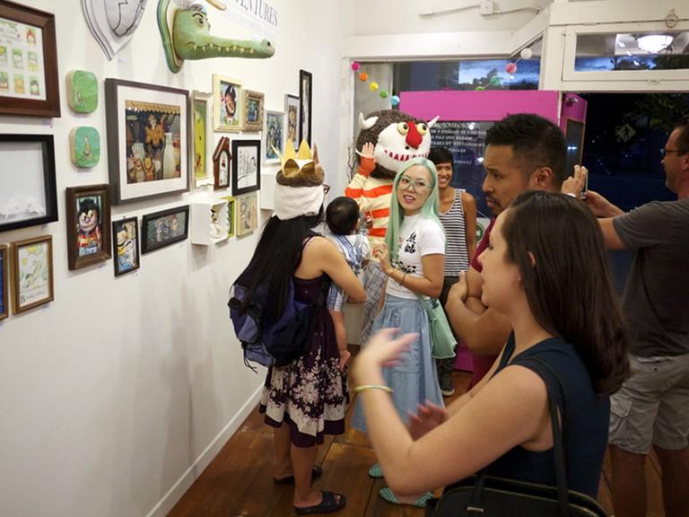Art event at Leanna Lin's Wonderland. Photo courtesy of Leanna Lin.