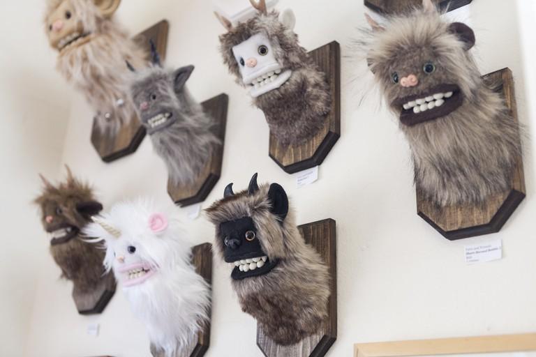 Yeti toys in Leanna Lin's Wonderland. Courtesy of Leanna Lin.