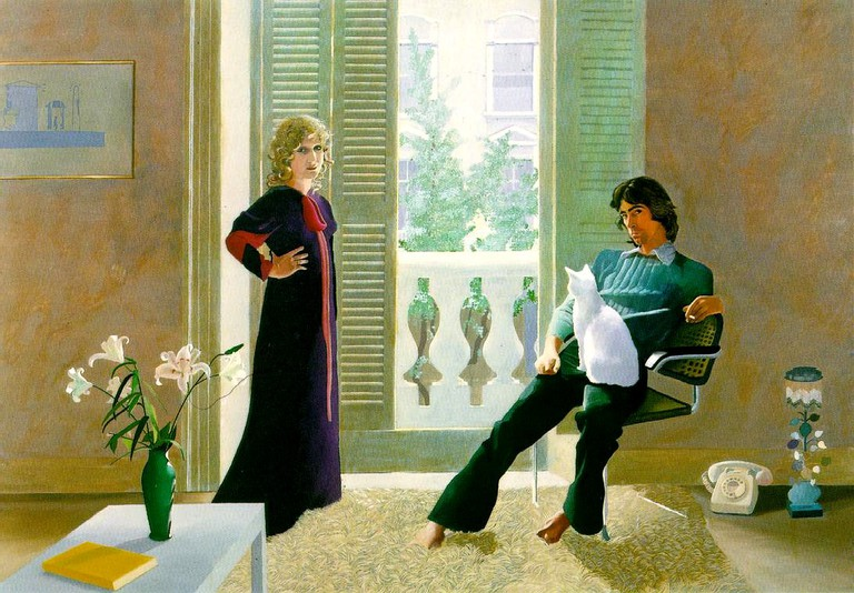 Mr and Mrs Smith and Percy, David Hockney