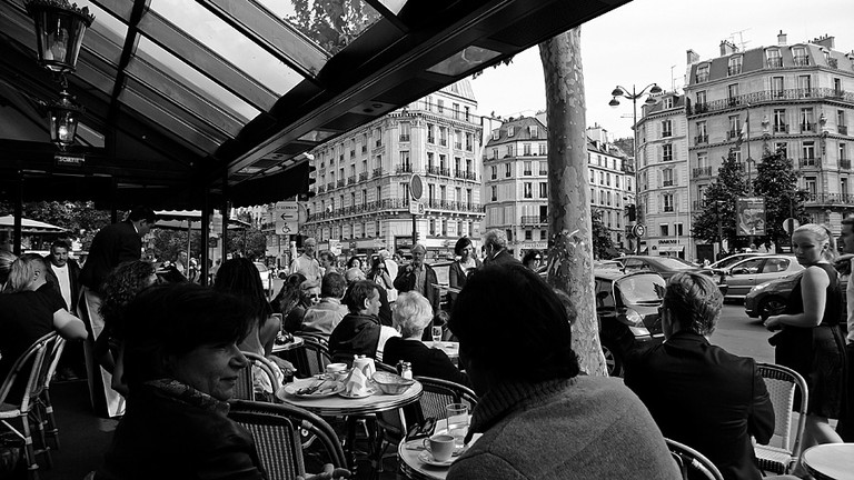 People Watching From The Legendary Deux Magots | © Ingo Ronner/Flickr