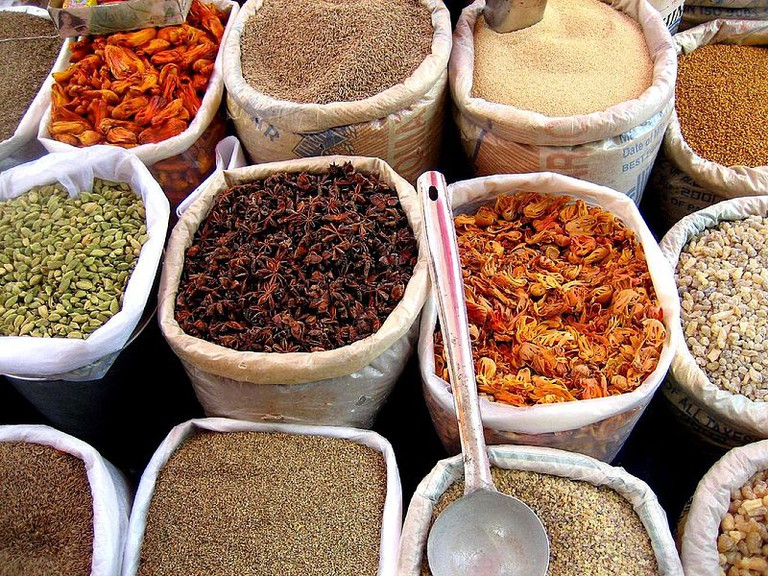 Spices   © judepics/WikiCommons