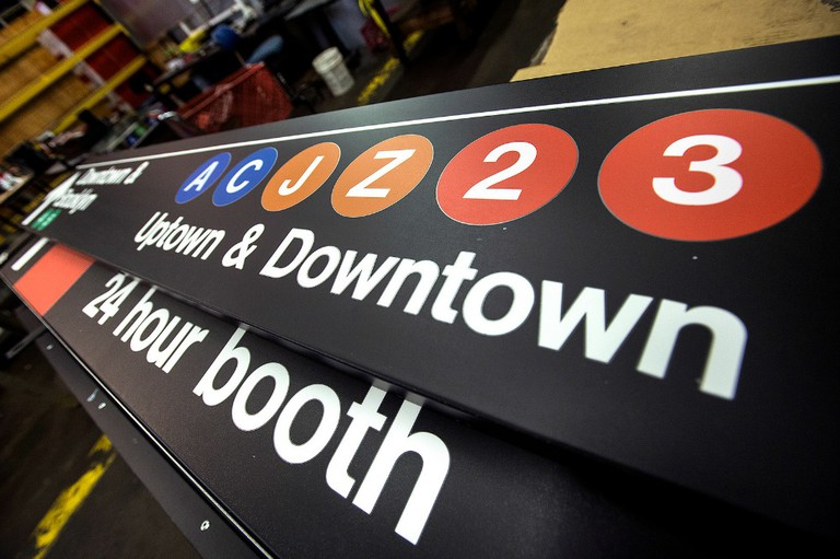 New York City Transit Sign Shop | © Metropolitan Transportation Authority of the State of New York