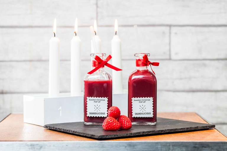 Raspberry Liquorice Punch | Courtesy of Skandilicous