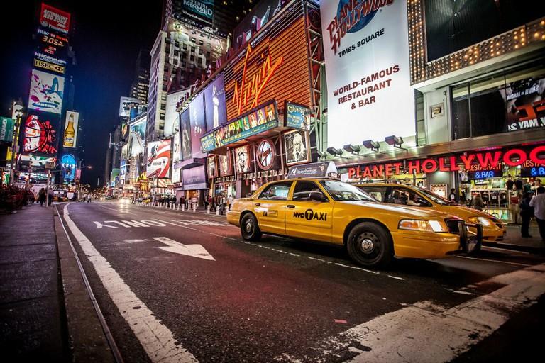 NYC TAXI | © Kenny Louie/Flickr