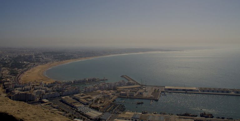 Agadir from the Kasbah | © Davide Palmisano/Flicker