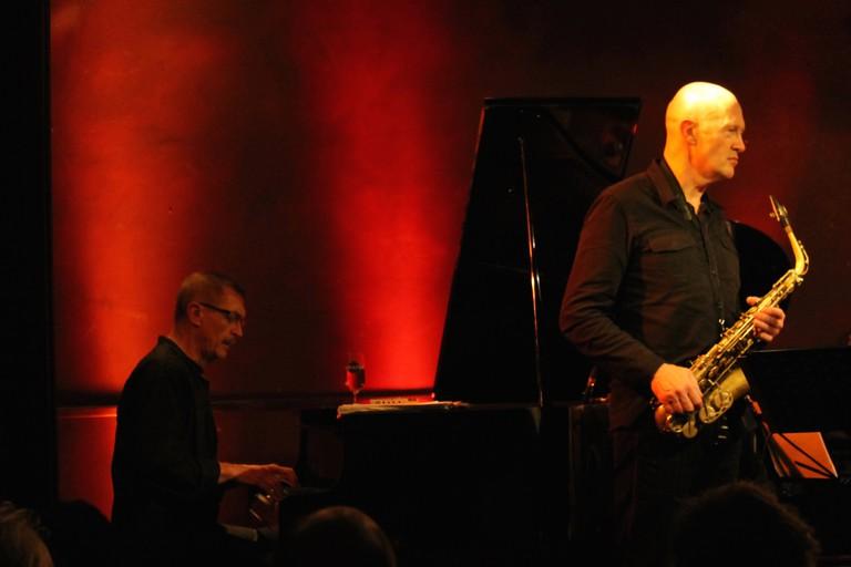 Emil Viklický and Steve Houben at The Music Village   © elPadawan/Flickr