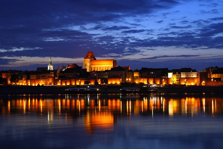 Old Town in Toruń from the left side of the Vistula | © Lestat (Jan Mehlich)/Wiki Commons