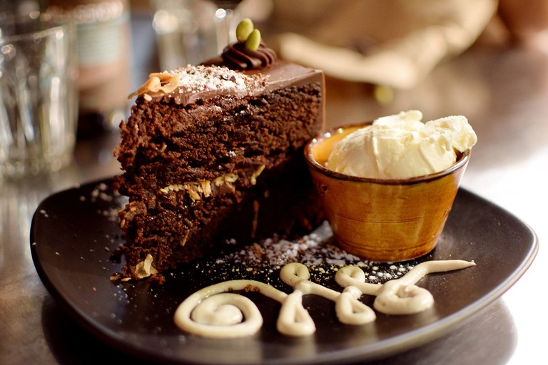 Vegie Bar chocolate cake | Courtesy of Nicola Keane