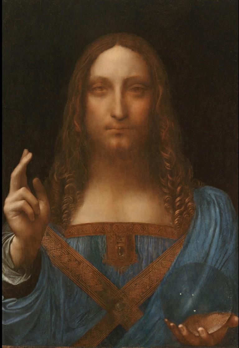 Leonardo da Vinci, Salvator Mundi, circa 1500 | © Leonardo da Vinci/WikiCommons