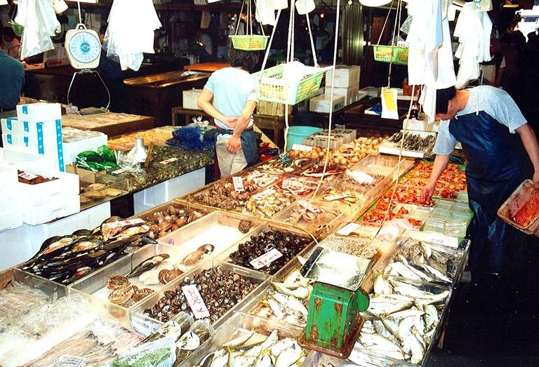 Fish market | © Arian Zwegers/Flickr