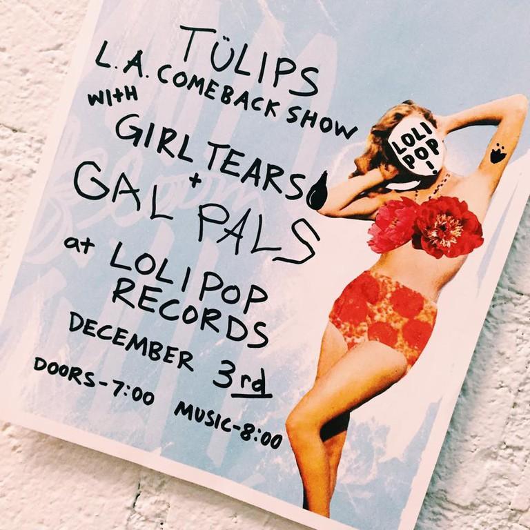 TÜLIPS L.A. Comeback show | © Lolipop Records
