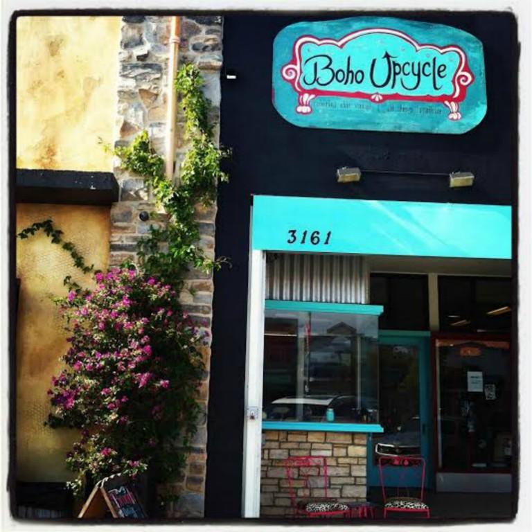 Boho Upcycle storefront. Photo courtesy of Krissy Arora.