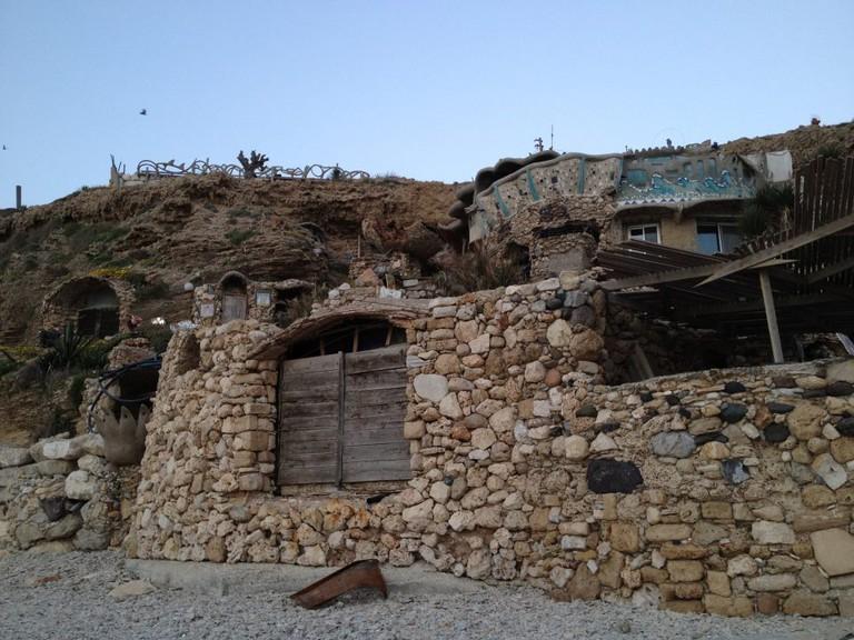 House made of shells, Apollonia Beach © Miriam Young