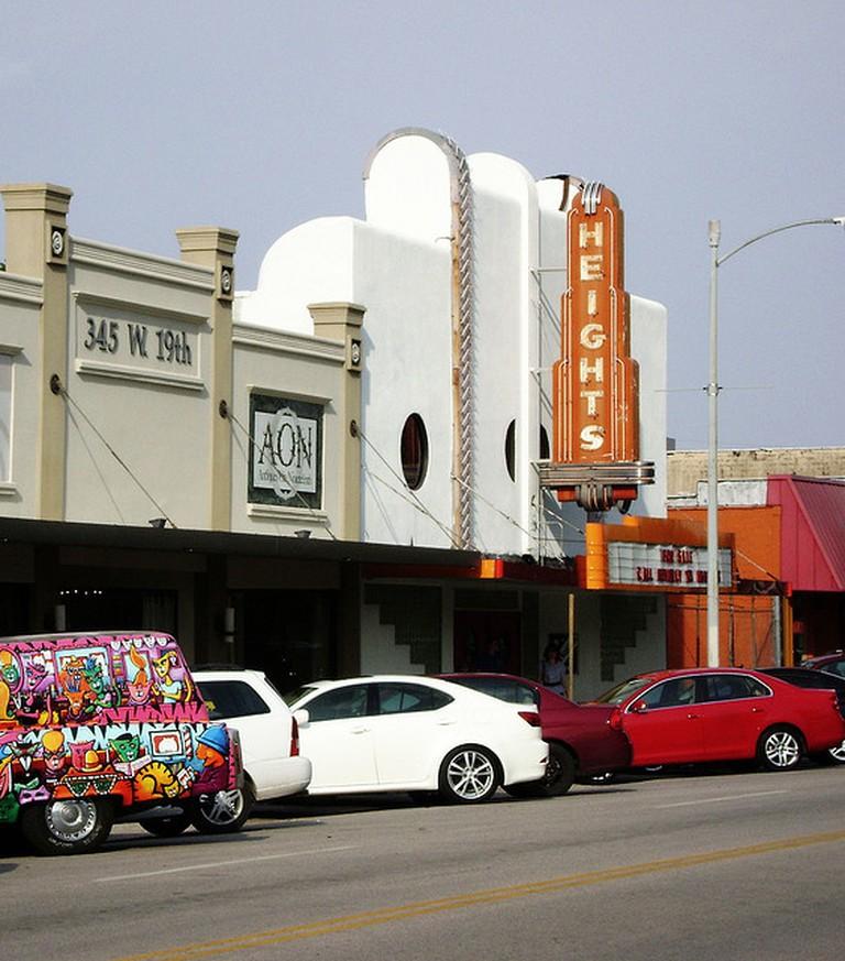 Heights Theater, Houston, TX | © Patrick Feller/Flickr